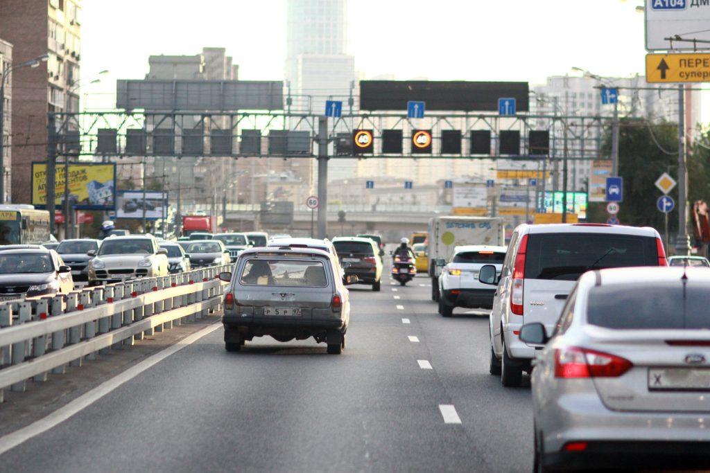 Пробки и заторы на дорогах