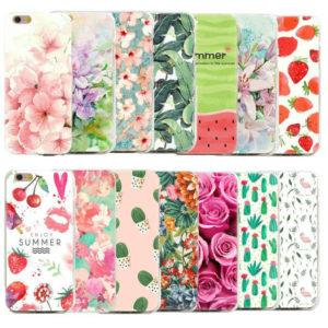 Чехлы для смартфонов с цветочками