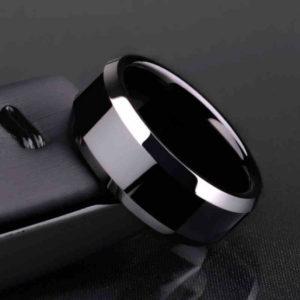 Титановое мужское кольцо