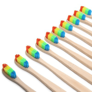 Цветные зубные щетки