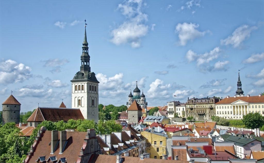 Таллин, Эстония, экономный отдых
