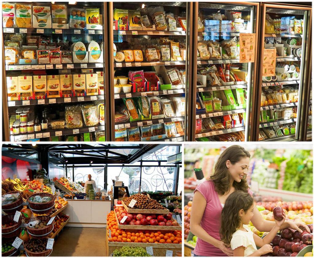 Покупки в разных магазинах помогают сэкономить